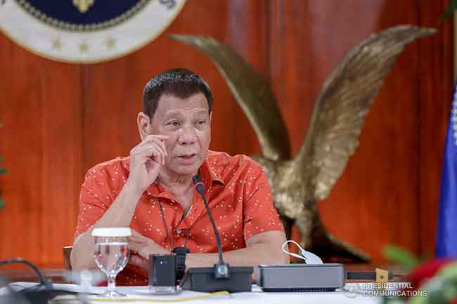 Duterte is now no longer going to interfere in Congress push for ABS-CBN franchise – Panelo