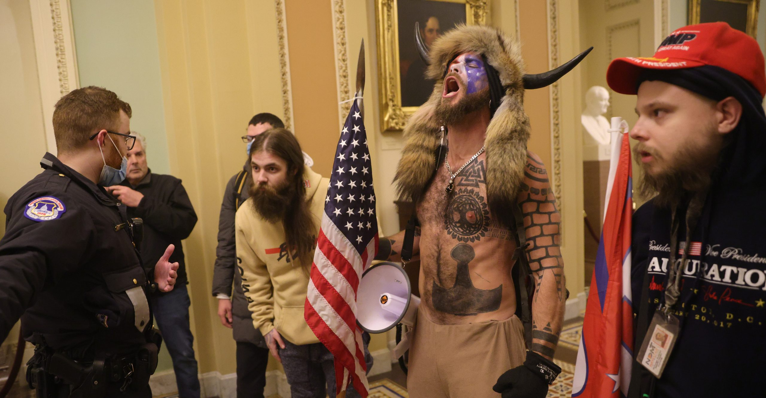 Die Laughing at the Capitol