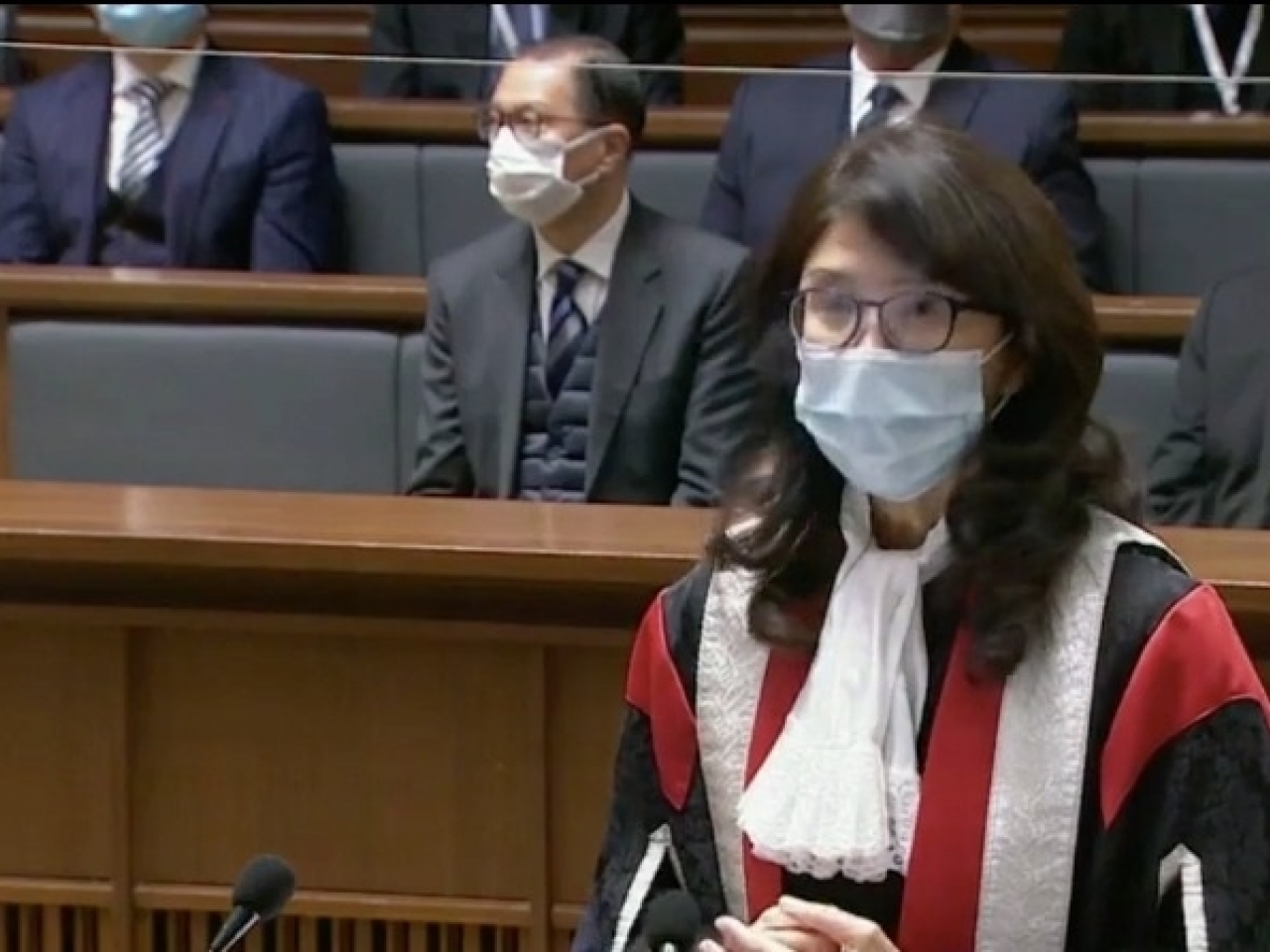 Rules Society head questions HK's steal of rule of regulation