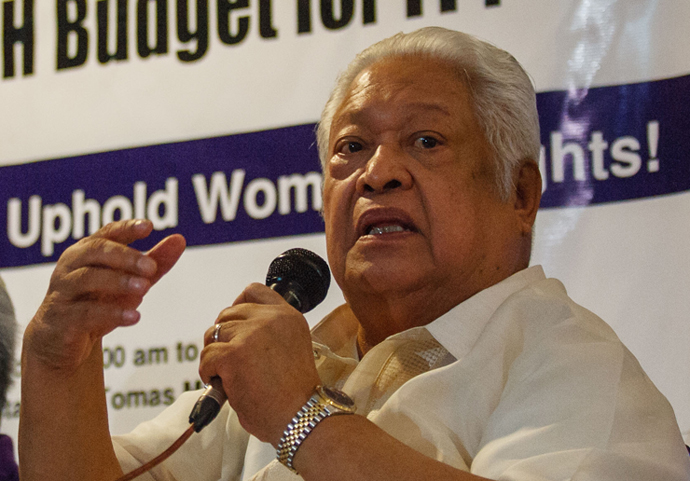 Lagman parts out 'valid infirmities' of renewed whisper for Charter commerce