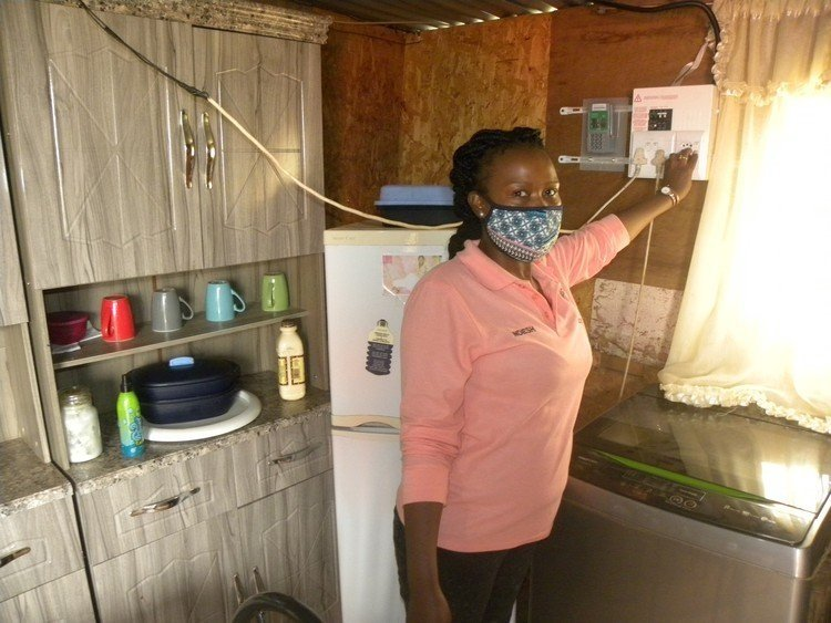 News24.com | Westville households gain electrical energy after years of ready