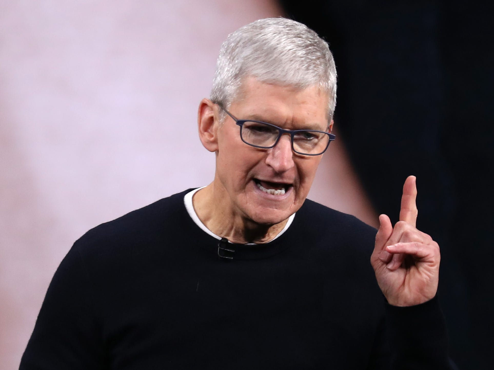 Apple CEO Tim Cook says Trump would possibly possibly also silent be held to blame for the Capitol Hill riots: 'Nobody is above the law' (AAPL)