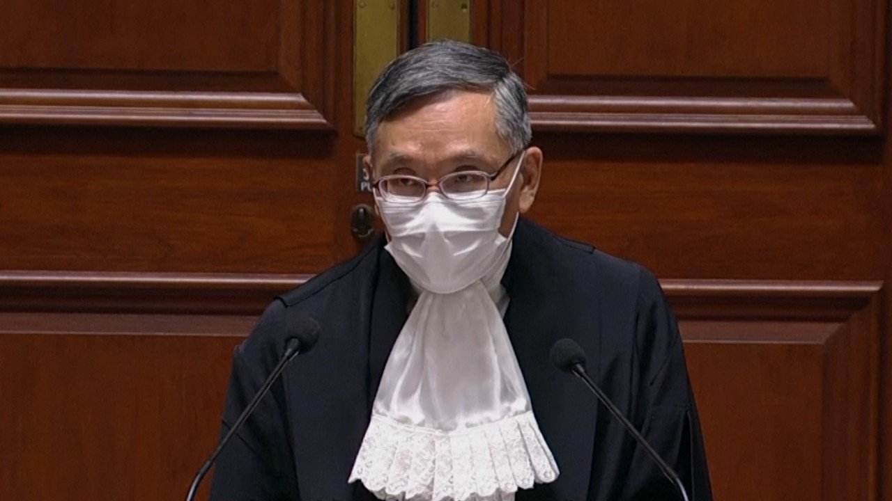 Hong Kong protests: highlight on snatch for ordering elimination of yellow masks in courtroom and revolt comments on reporters – was he merely, or did he run too a long way?