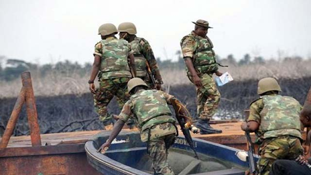 Navy neutralised illegal refineries, arrested 707 suspects