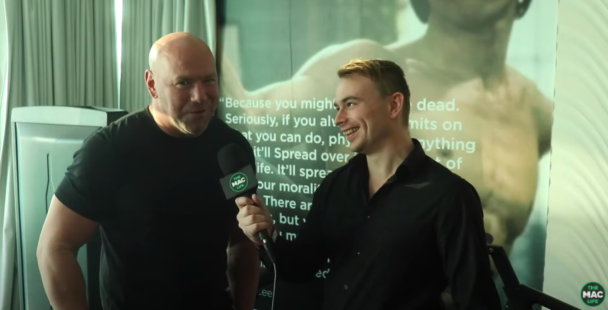 Observe: 'I leer forward to the crying and the begging' —  Dana White doubles down on UFC piracy warning