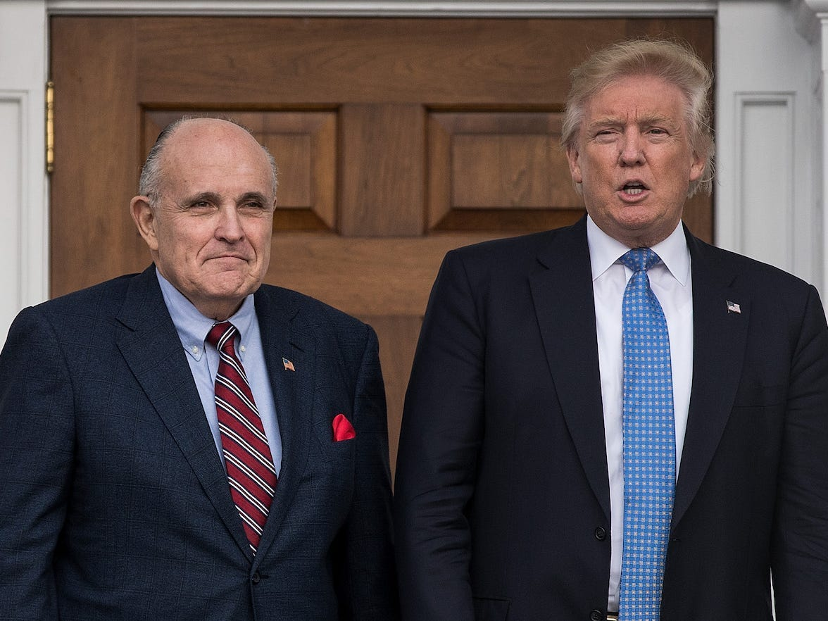 White Condo officials blame Rudy Giuliani for both of Trump's impeachments, Contemporary York Times listing says