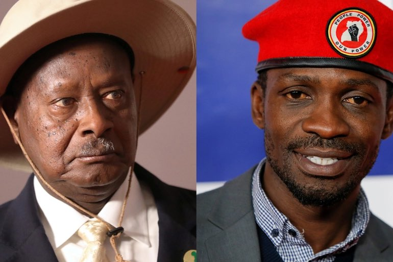 Uganda's Museveni Takes Wide Lead After About 50% Of Votes Counted, Bobi Wine Kicks