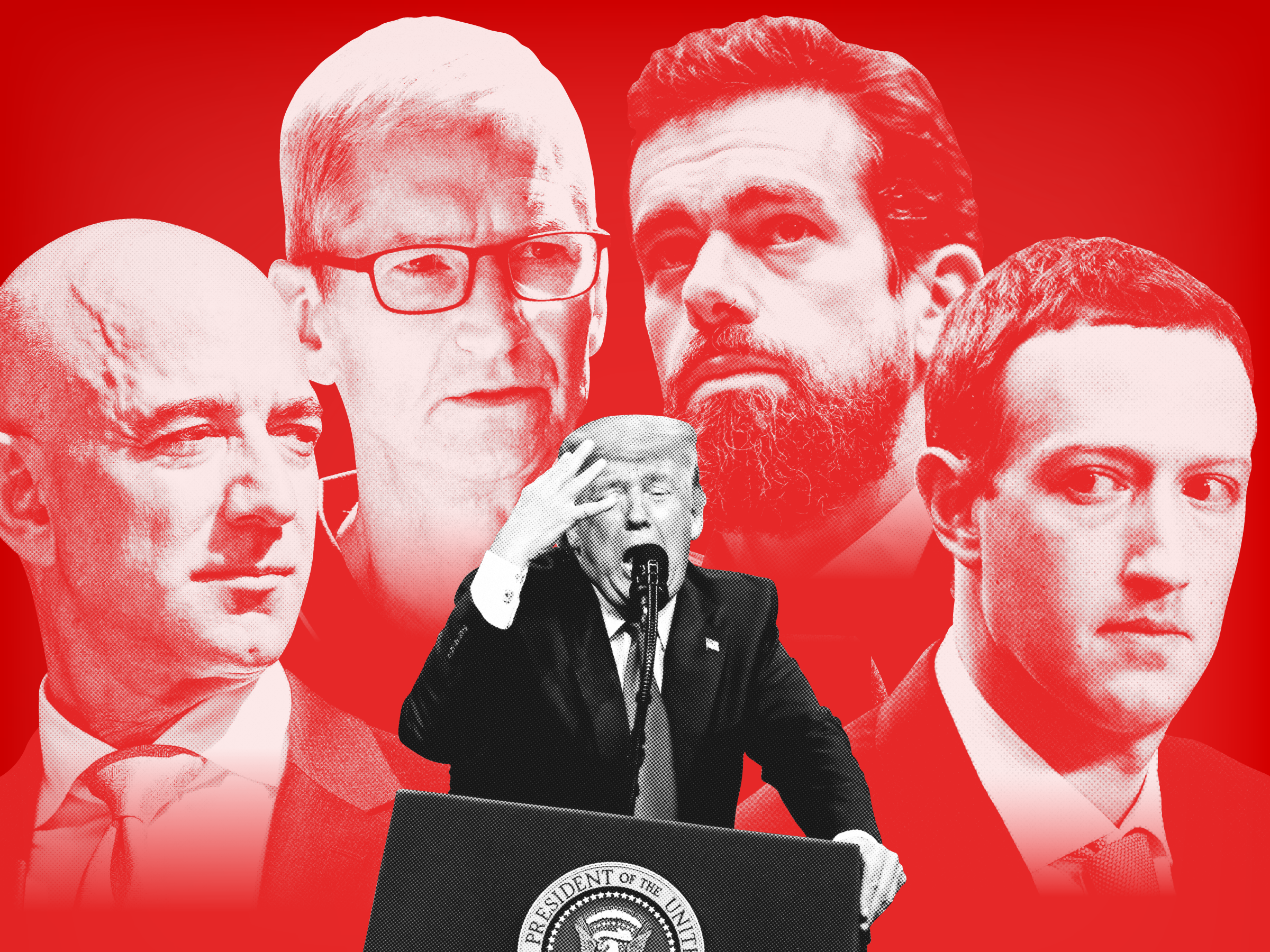 How Silicon Valley banished Donald Trump in forty eight hours