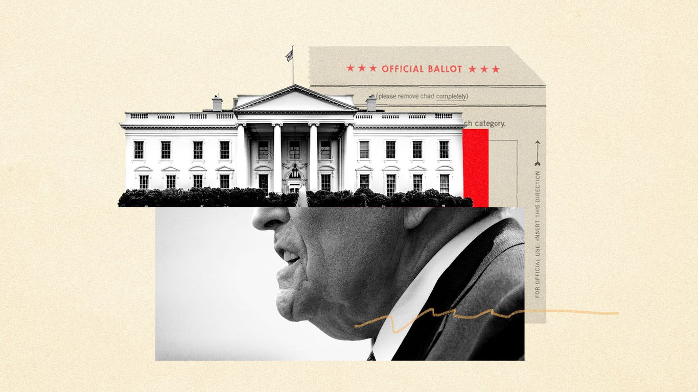 Off the rails: Conspiracy theorists commandeer Trump's upright operation