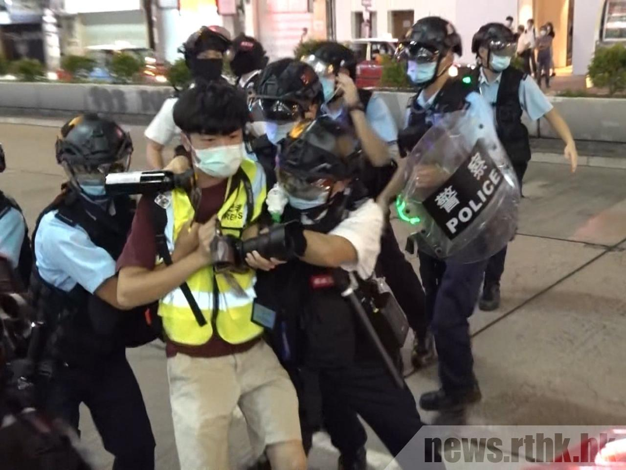 HKJA principles out appeal over police medication of media