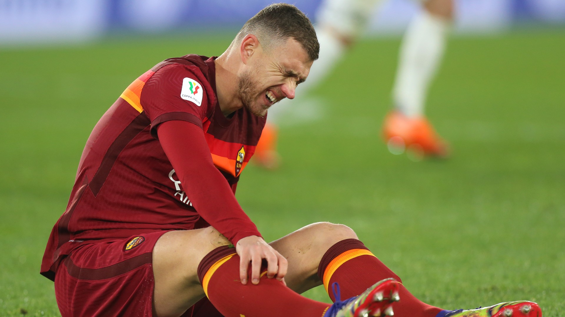 Two crimson playing cards in two minutes and an unlawful substitution watch Roma shatter out of Coppa Italia in humorous vogue