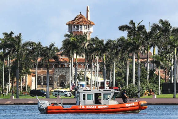 Palm Seaside reviewing Trump's residency at Mar-a-Lago