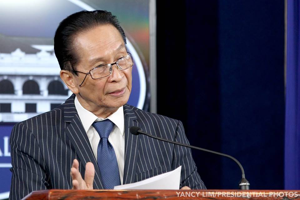 Panelo to Robredo: Factual work, without publicity