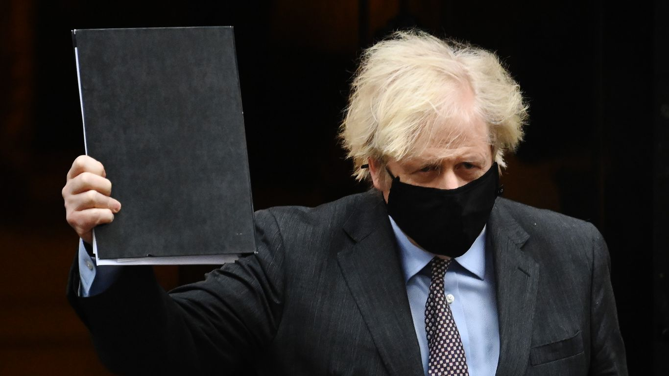 Boris Johnson unveils roadmap to totally reopen England's financial system by June 21