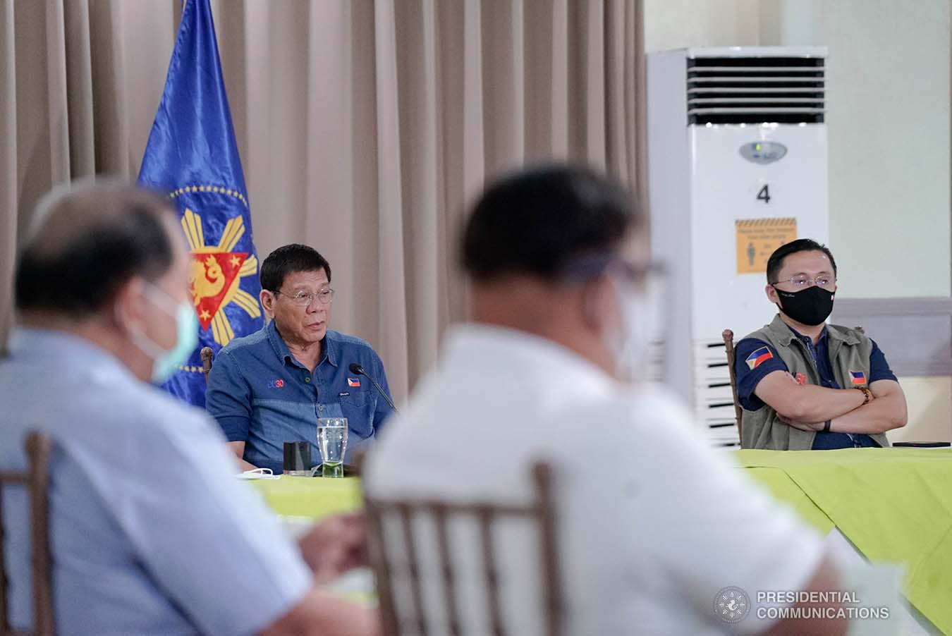 Duterte wants gov't work completed quicker: 'I'm a extremely impatient man'