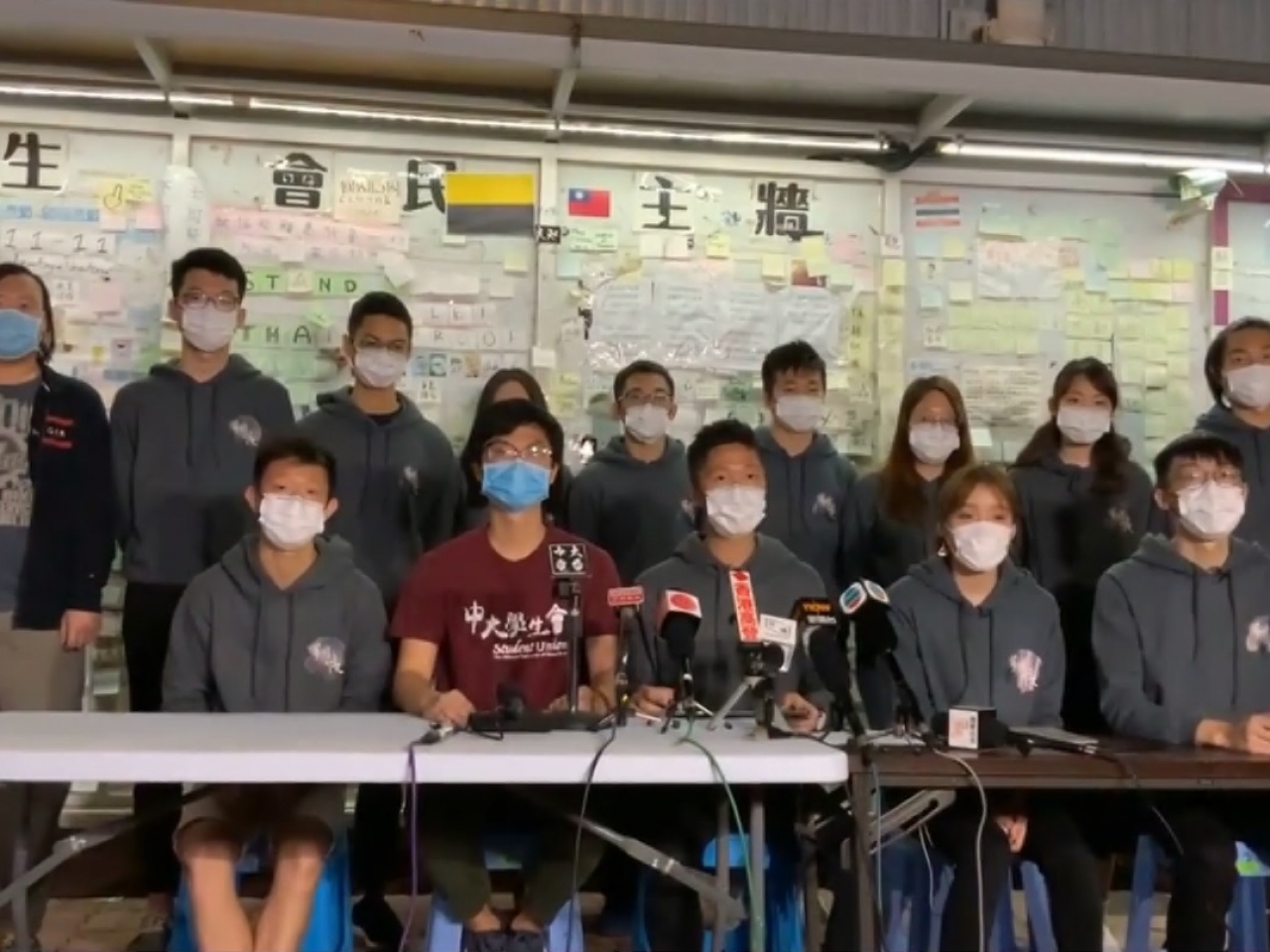 Pupil union slams CUHK's 'suppression and threats'
