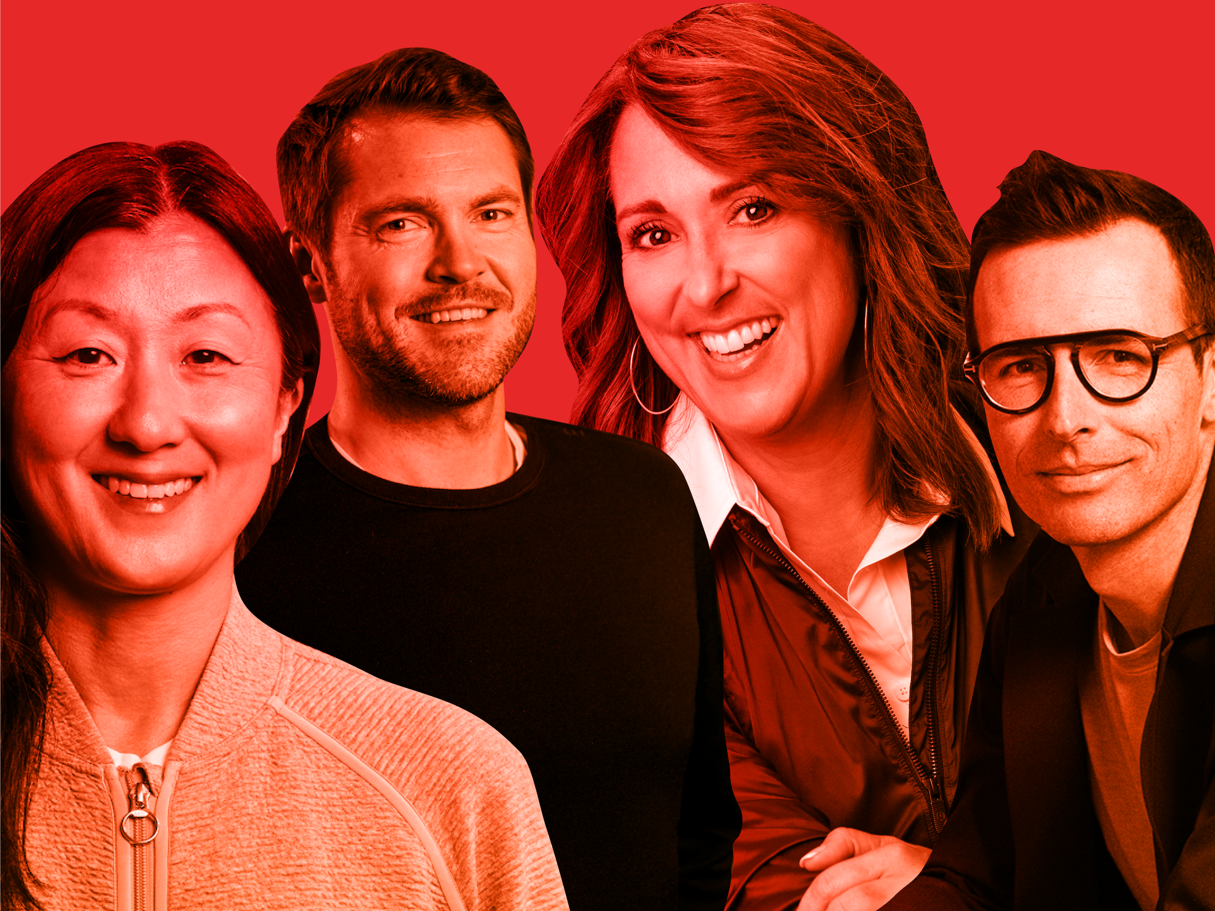 11 executives at Lululemon riding the athletic wear firm's impressive sales convey — and leading it into a brand new digital generation