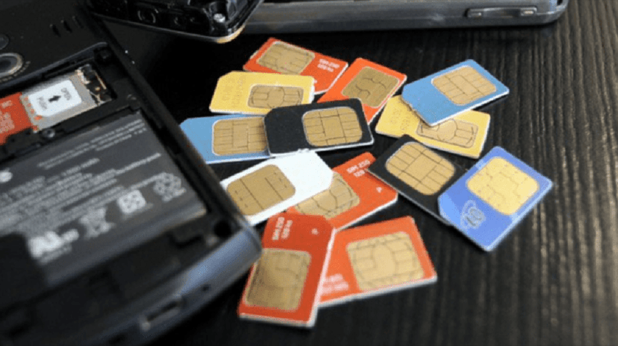 How scammers employ SIM playing cards to steal your bank accounts