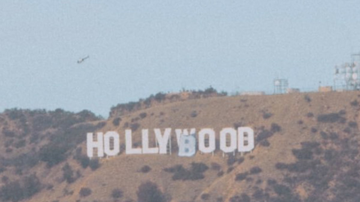 Hollywood Imprint Altered to 'Hollyboob' for Unlawful Breast Most cancers Awareness Stunt