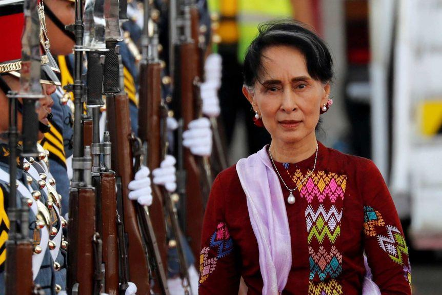 Myanmar police file charges towards Aung San Suu Kyi after coup
