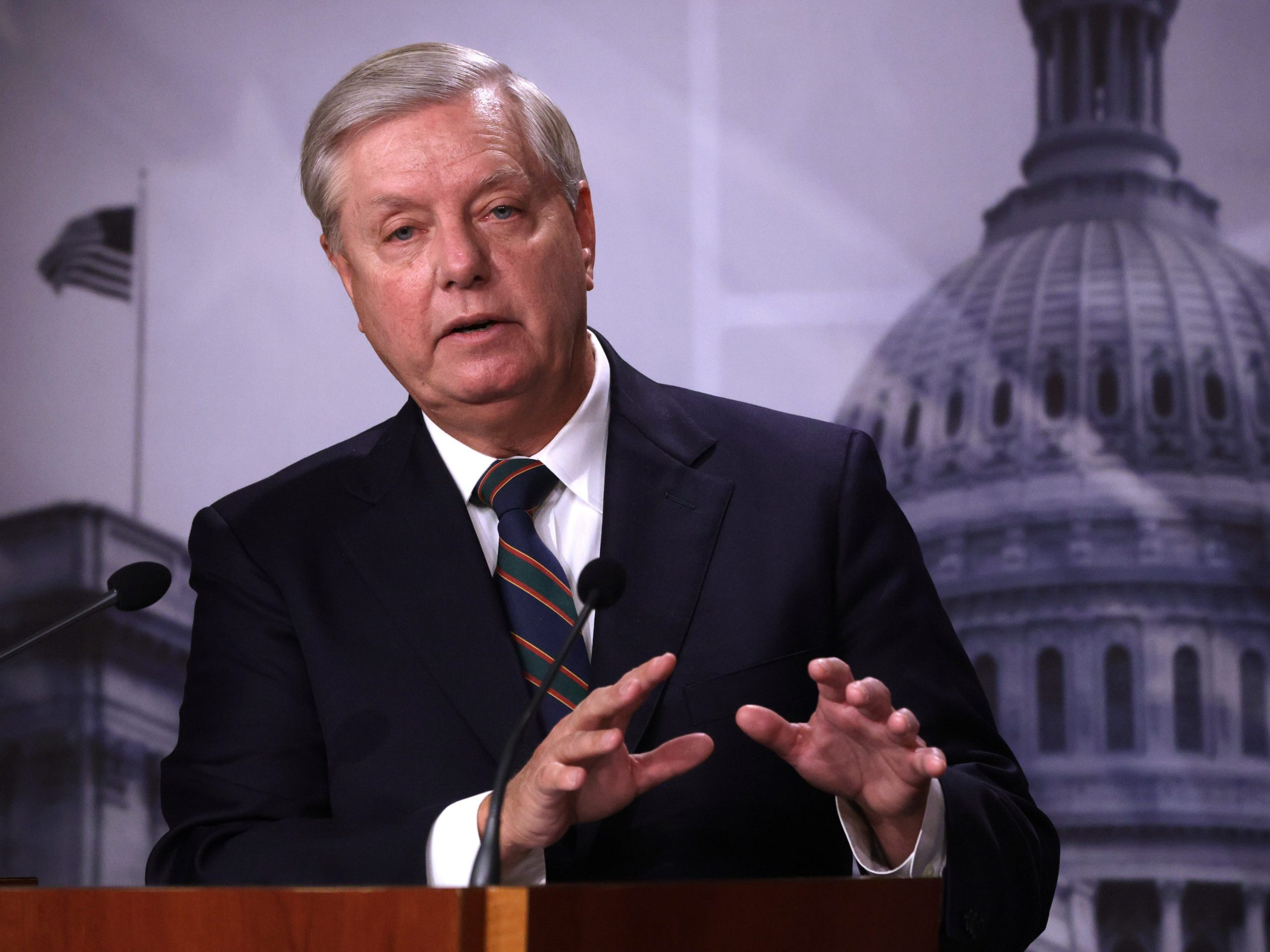 Sen. Lindsey Graham says Trump will 'secure his share of blame in history' for the Capitol riot