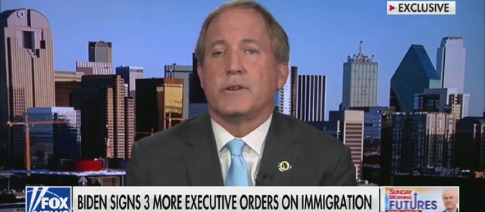 'Why Must silent Non-Citizens Be Treated Higher?': Texas AG Blasts Biden Resolution To Vaccinate Illegals