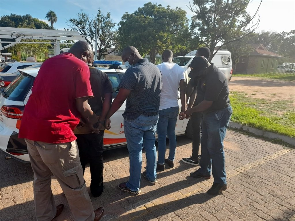 News24.com | 4 suspects nabbed for fraud and theft touching on to police gasoline card rip-off