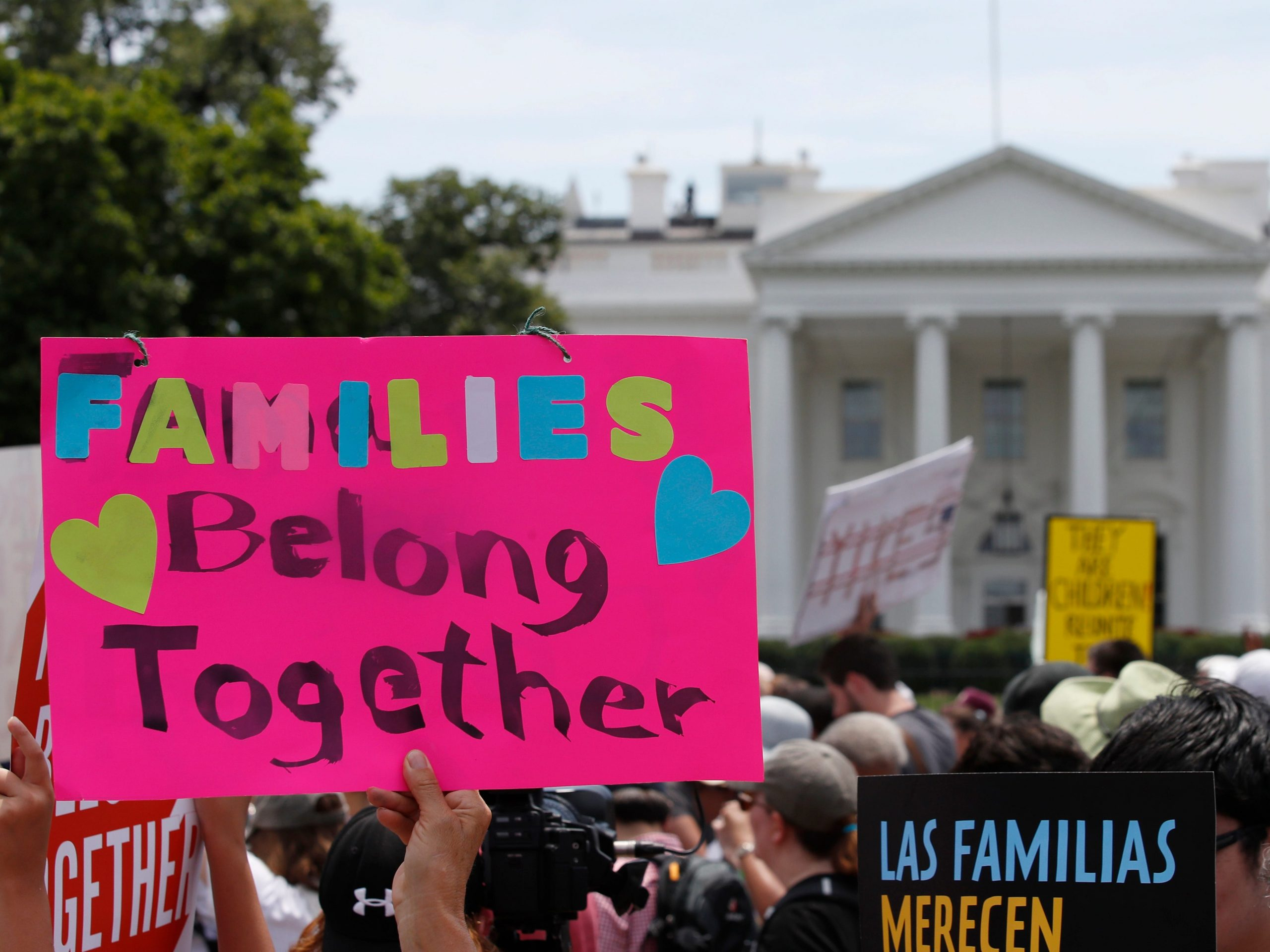 The White Dwelling is anticipated to position a refugee advocate accountable of reuniting separated migrant households, per picture