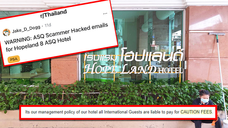 Crawl back and forth to Thailand isn't easy. Now scammers are making it painful.