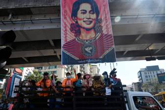US sanctions on Myanmar junta no longer sufficient, says Suu Kyi supporters