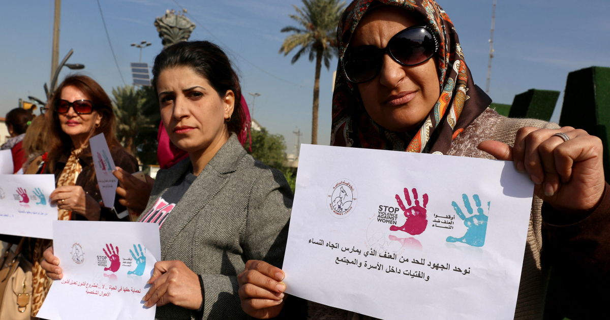 Iraqi females battle to flee abuse as home violence rises
