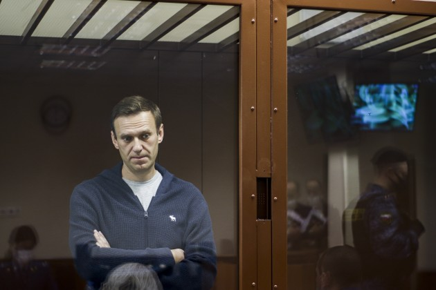 Russia says 'no good grounds' to release Navalny in response to European Court of Human Rights query