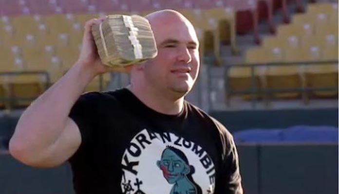 """Dana White admits being a """"degenerate"""" gambler, remembers shedding $1 million wager on boxing match"""