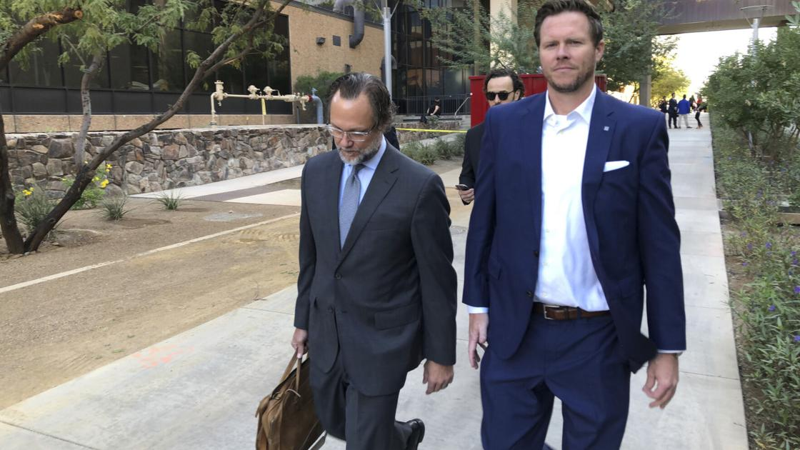 Ex-Arizona politician appeals sentence in adoption draw