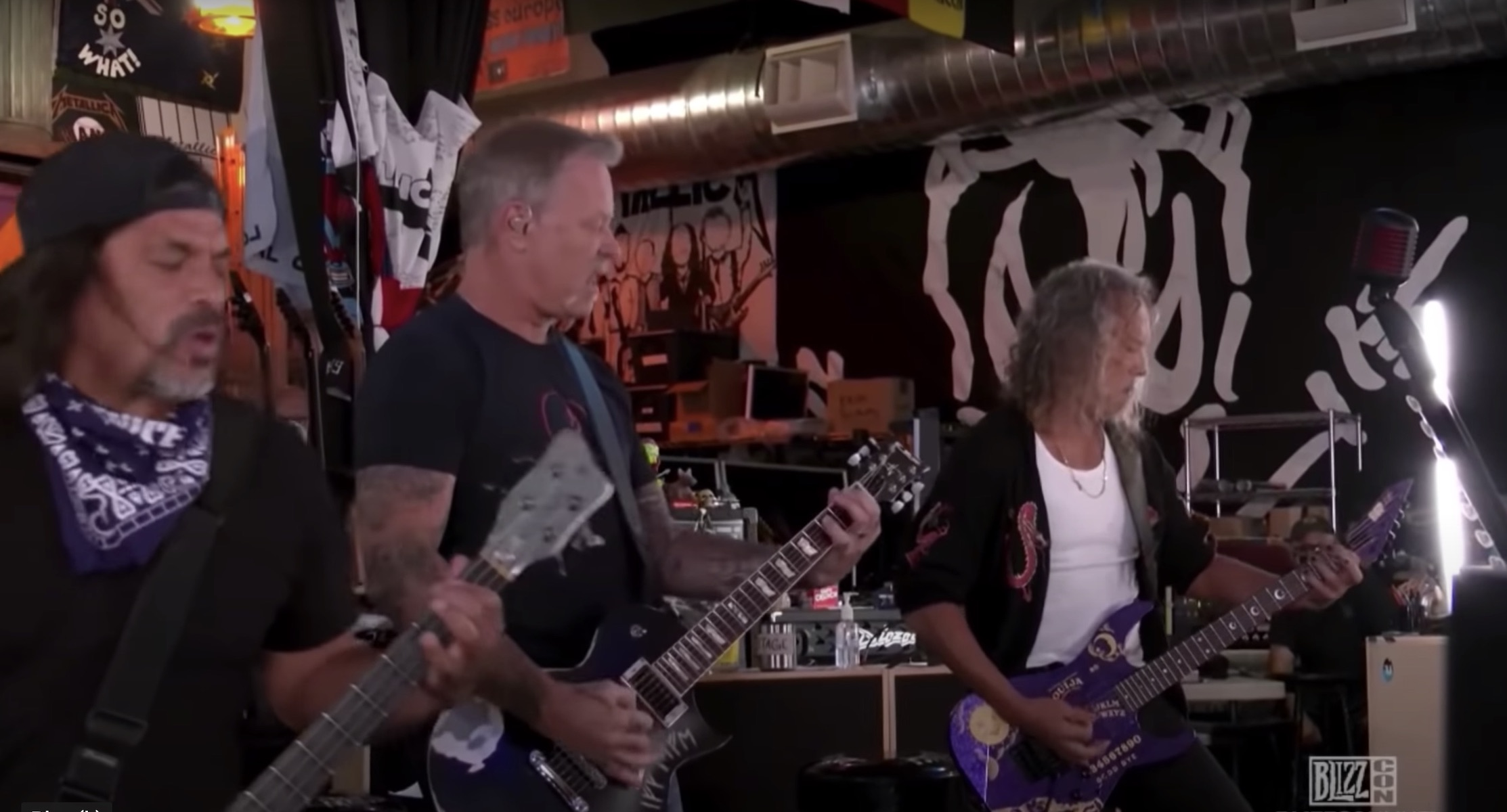 Twitch Replaces Are residing Metallica Audio With Hilarious People Tune to Care for away from Copyright Violation