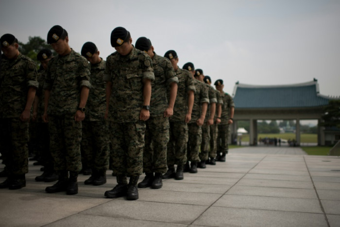 Arouse as South Korean transgender soldier chanced on tiring