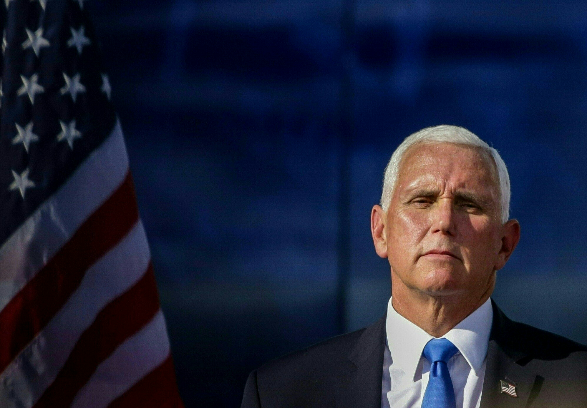 Pence Is Soundless Pushing Trump's Nice Lie