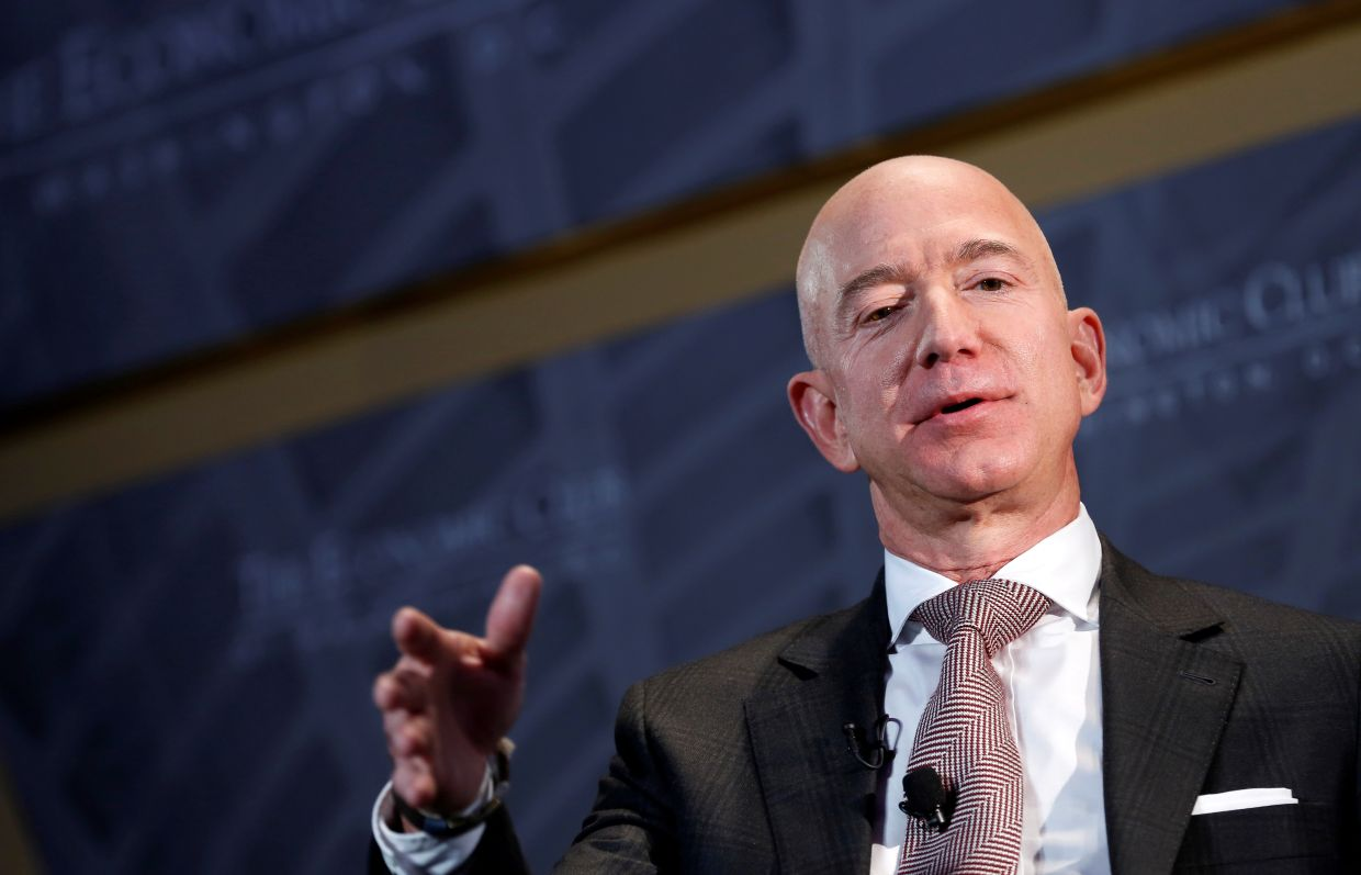 Bezos gets fraction of moral expenses from lady friend's brother