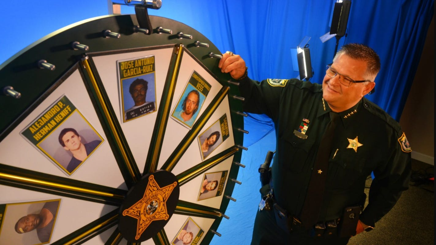 Florida sheriff who hosts 'Wheel of Fugitive' uncover capabilities those which could be not fugitives