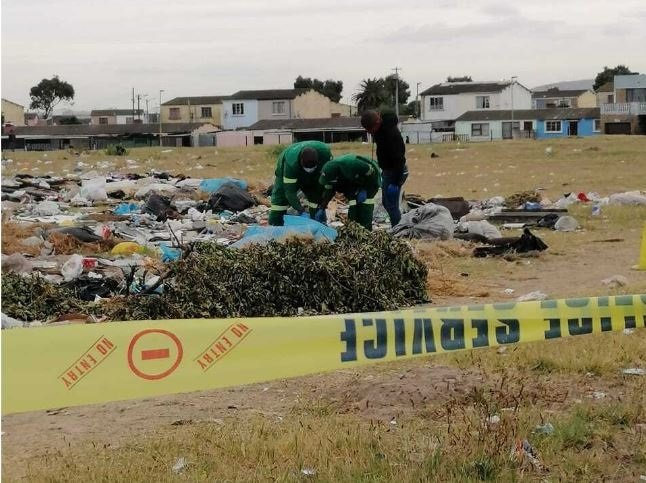News24.com   Police probe taking pictures of man whose physique used to be learned at an illegal dump build