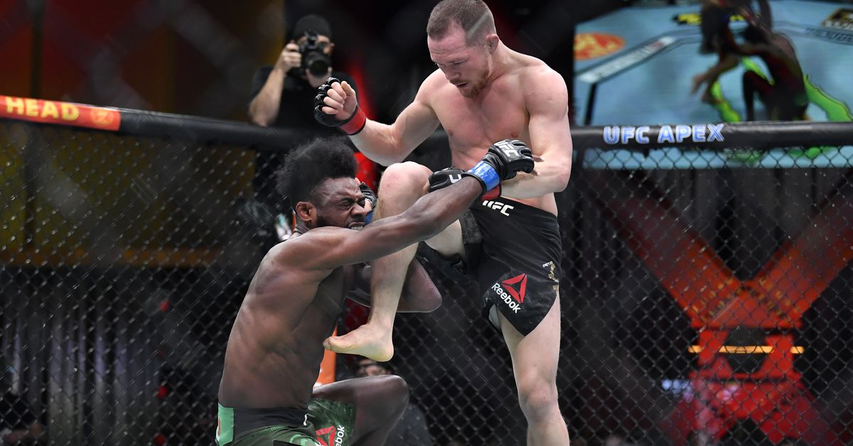 Aljamain Sterling responds to Russian trolls, John McCarthy and fighter critics after UFC 259 DQ exhaust