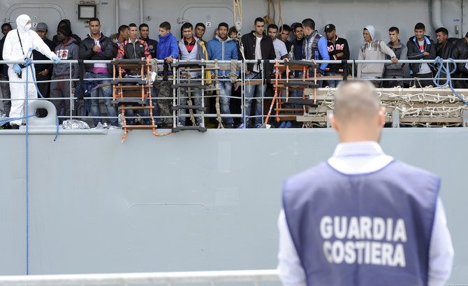Italian police bust migrant-smuggling cell