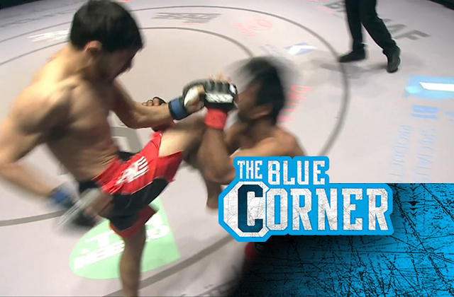 Moments after landing an unlawful knee, Ali Guliev ratings TKO make at BRAVE CF 47