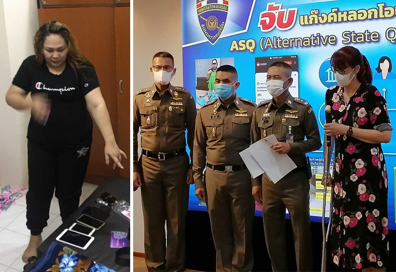 Thai lady charged with defrauding vacationers in quarantine lodge scam