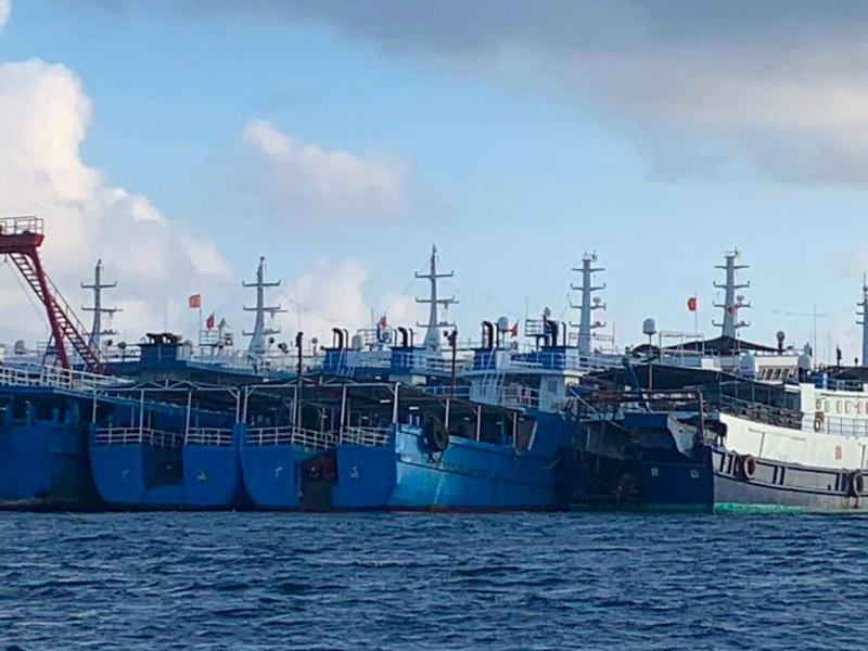 Philippines files novel diplomatic protests over Chinese boats in disputed waters