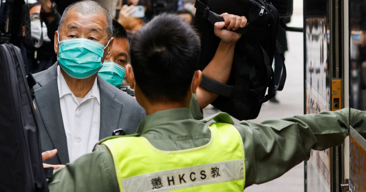 Hong Kong magnate Jimmy Lai, others to be sentenced for unlawful assembly