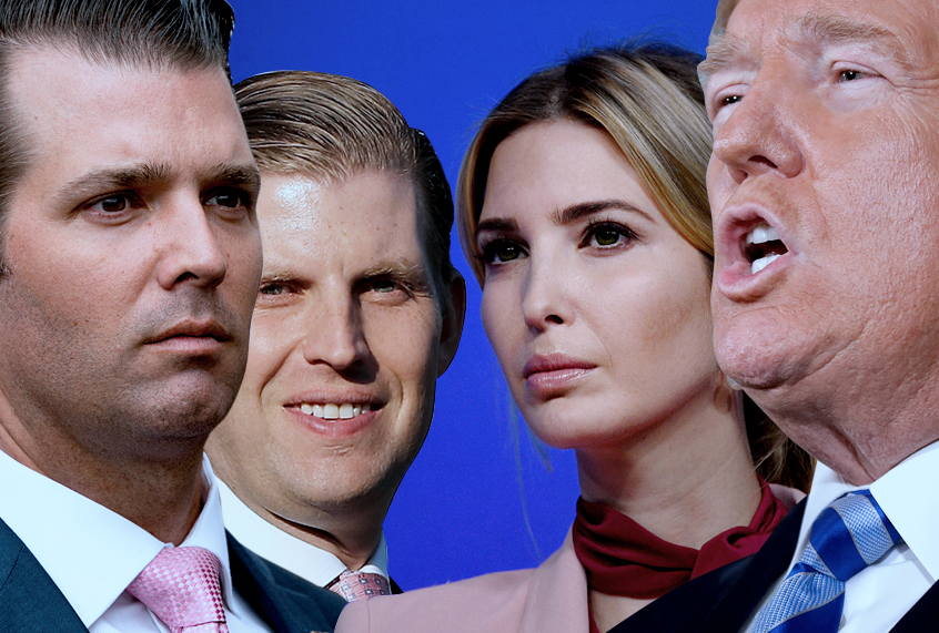 """Original York's attorney traditional sues Trump family, alleging years of """"unlawful habits"""" at charity"""